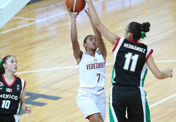 México en 5º lugar en el FIBA Americas Femenil U16