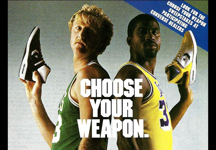 El comercial de los Converse Weapon en los ochenta