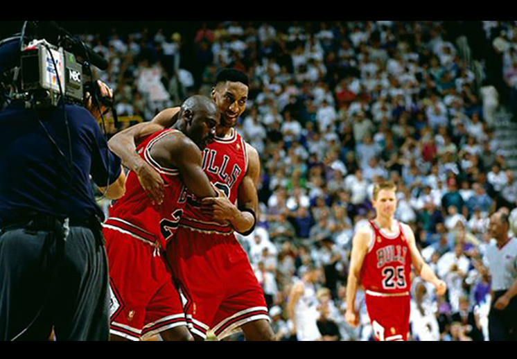 "20 años del ""Flu Game"" de Michael Jordan"