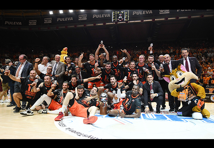 El Valencia es campeón de la Liga Endesa