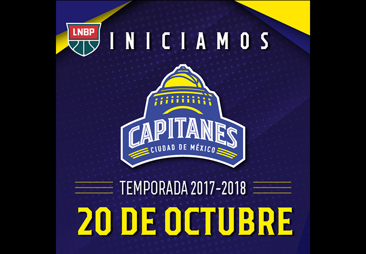 Los Capitanes debutarán el 26 de octubre en la CDMX foto 2