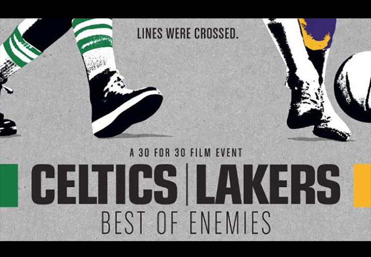 "thumbnail. ESPN 30 for 30: ""Celtics/Lakers: Best of Enemies"""