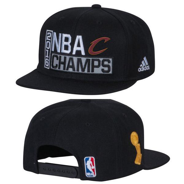 Las gorras de los campeones de la NBA