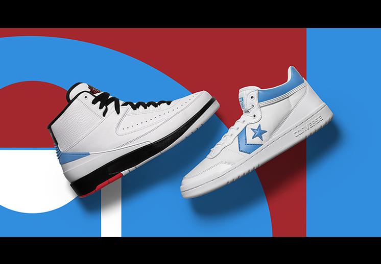 El paquete de Jordan x Converse