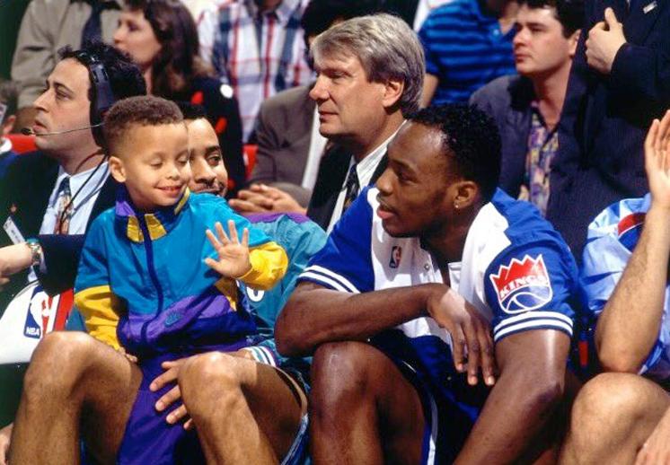 Las estrellas de la NBA festejaron a los papás