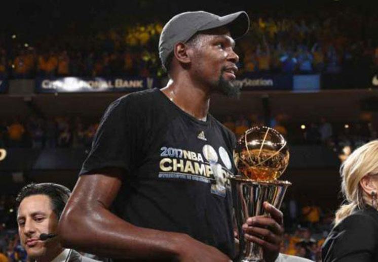 Comercial para homenajear a Kevin Durant como MVP