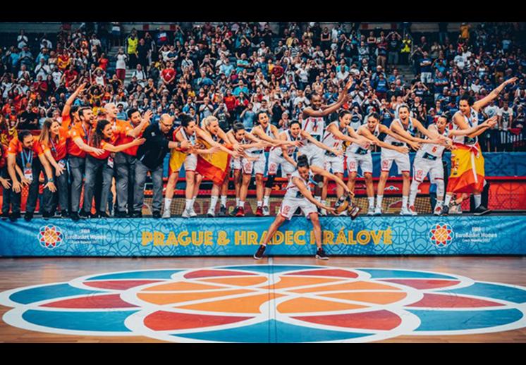 España campeona del Eurobasket femenil 2017