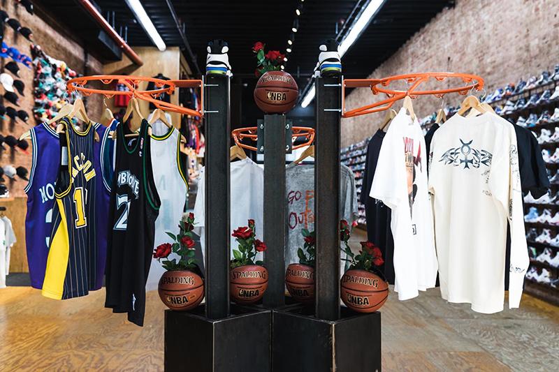 Exposición de artículos retro de la NBA foto 2
