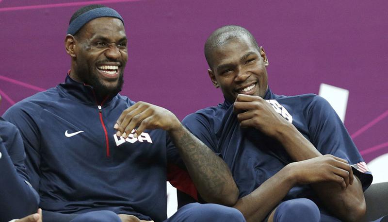 LeBron y Durant grabaron una canción de rap en 2011
