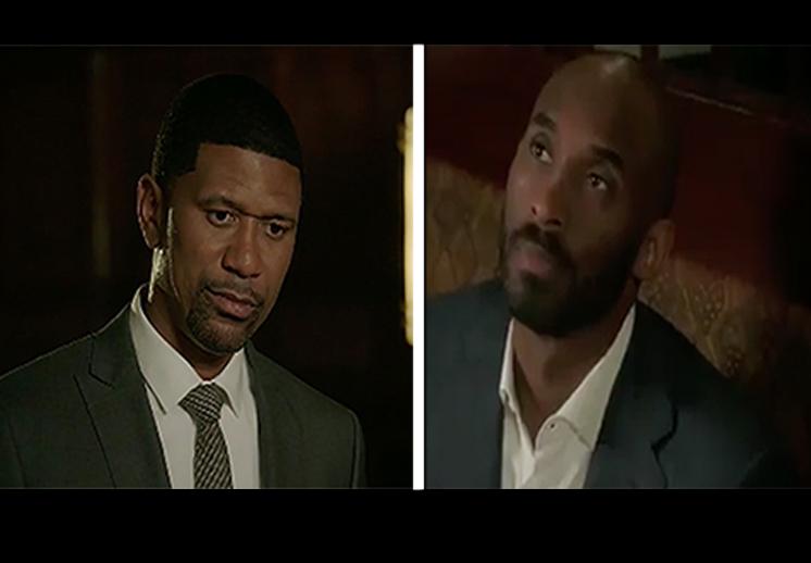 Kobe Bryant se burla de Jalen Rose en comercial de ESPN
