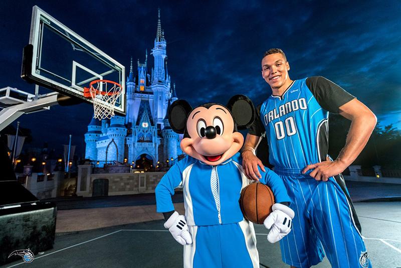 Orlando Magic tendrá un parche publicitario de Disney
