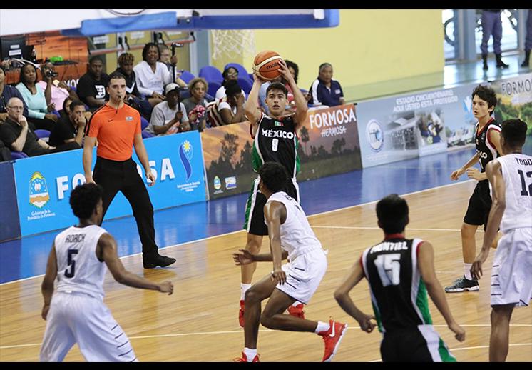 México con vida en el FIBA Américas U16