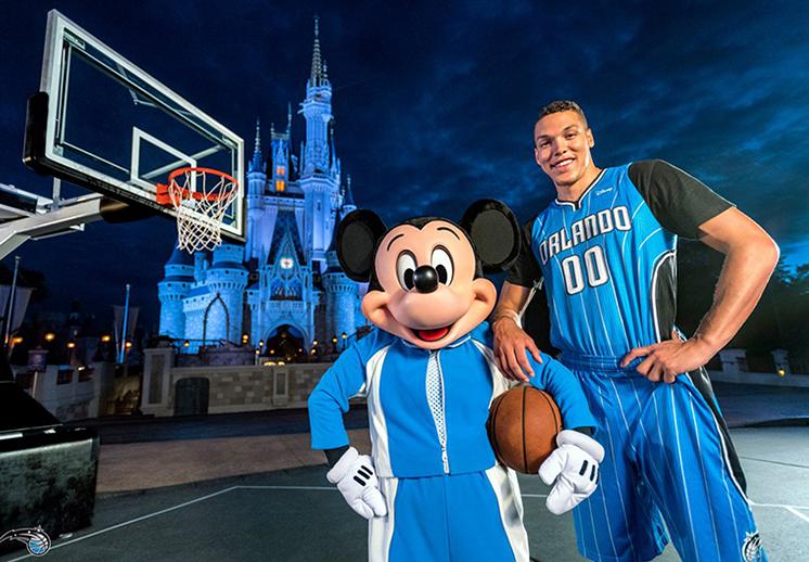 Orlando Magic tendrá un parche publicitario de Disney foto 1