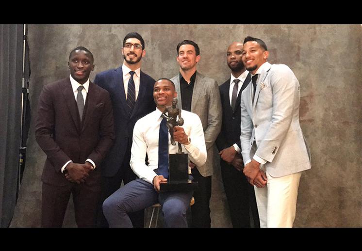 Russell Westbrook se llevó el título de MVP