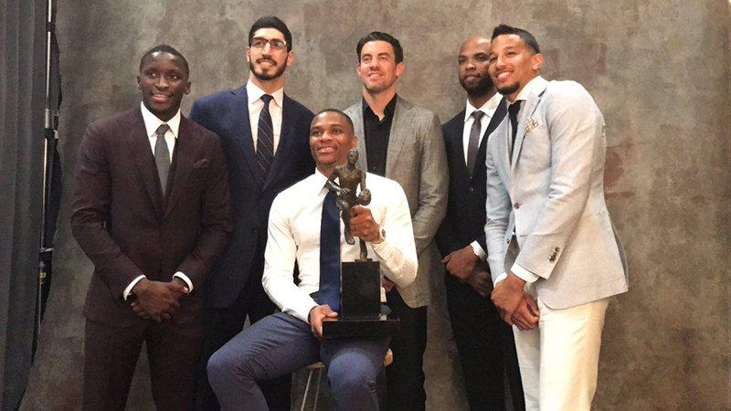 Russell Westbrook se llevó el título de MVP foto 1