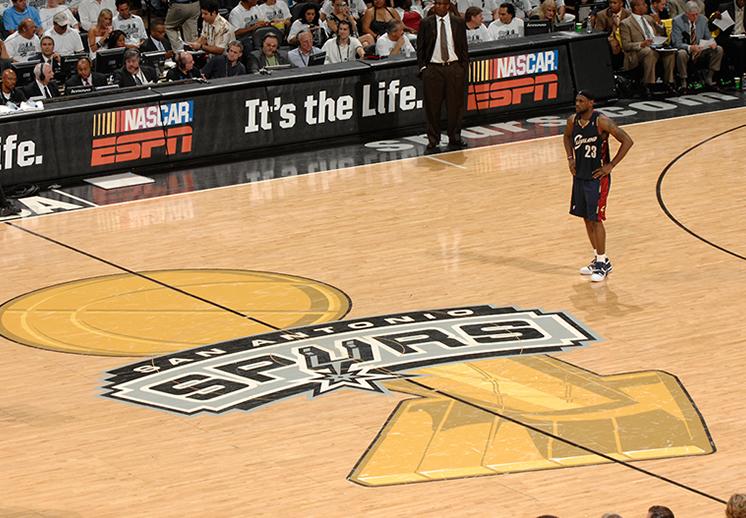 San Antonio Spurs vs Cleveland Cavaliers (2007)