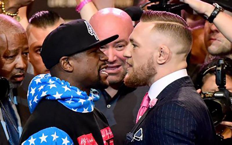 Conor McGregor facing mayweather