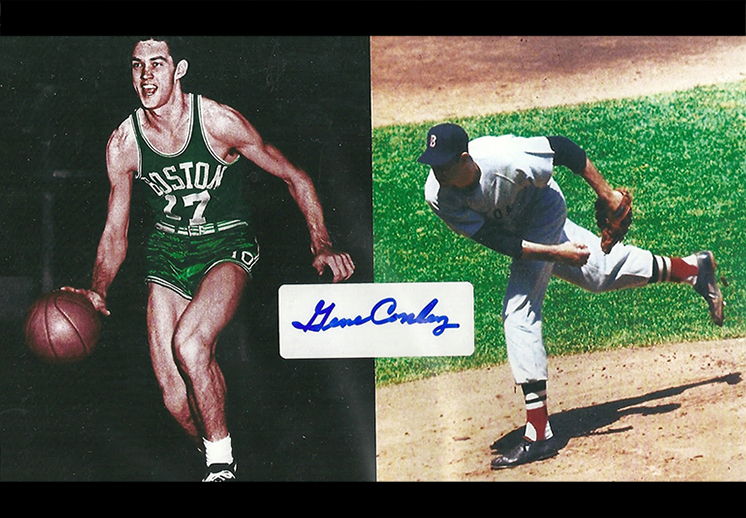 Falleció Gene Conley, campeón de la NBA y MLB