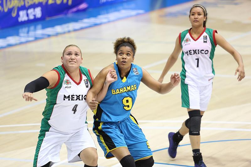 México logró sufrido triunfo ante Bahamas en Centrobasket foto 3