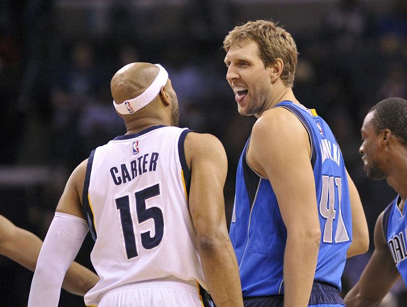 foto 1, Dirk Nowitzki y Vince Carter van por más historia en la NBA