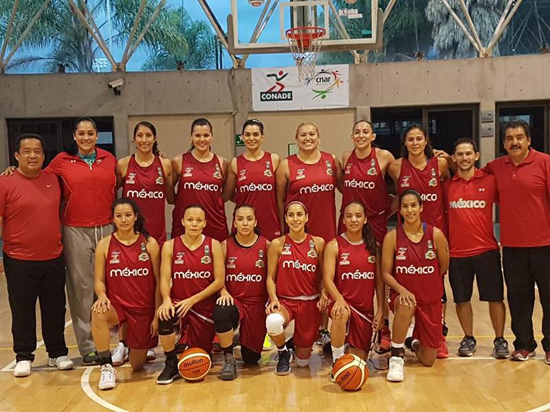 México a brillar en el Centrobasket Femenil