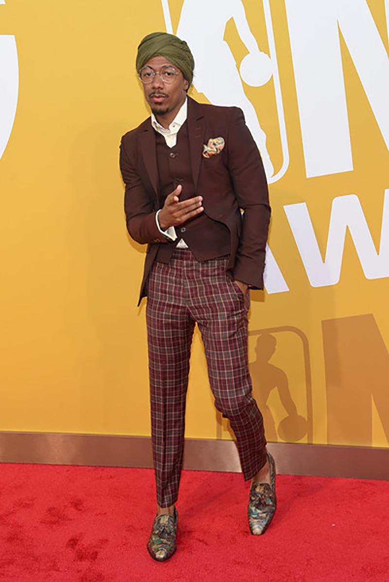 Nick Cannon De los peores vestidos de los Premios NBA