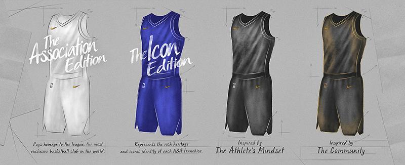 Se reveló el primer jersey Nike para la nueva temporada de la NBA
