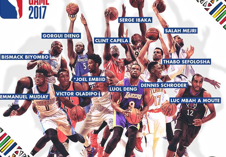 La historia de los juegos de la NBA en África