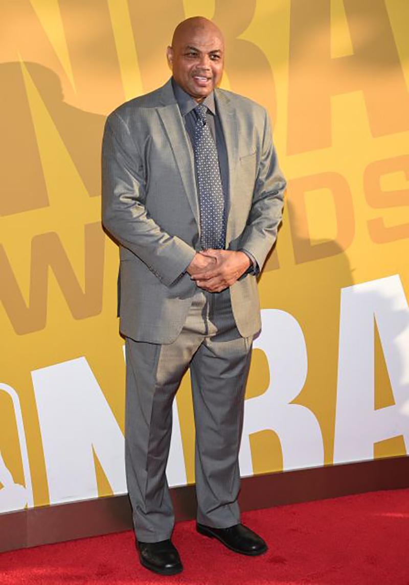 barkley De los peores vestidos de los Premios NBA