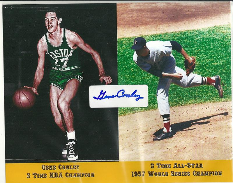 Falleció Gene Conley, campeón de la NBA y MLB foto 2