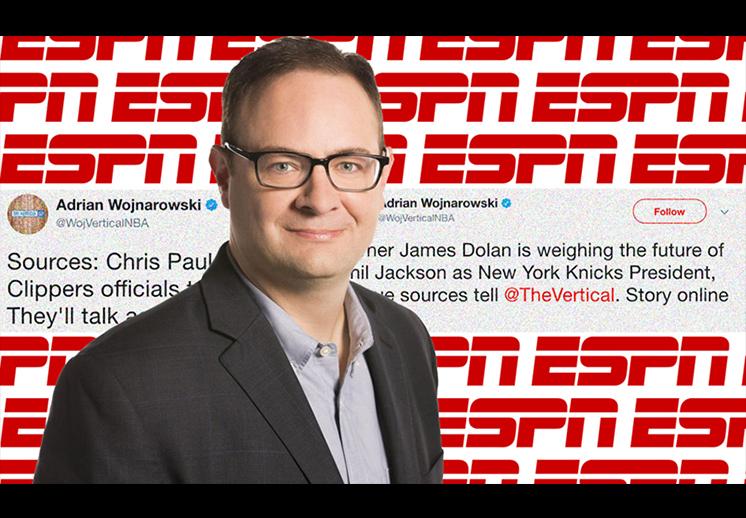 La llegada de Adrian Wojnarowski a ESPN