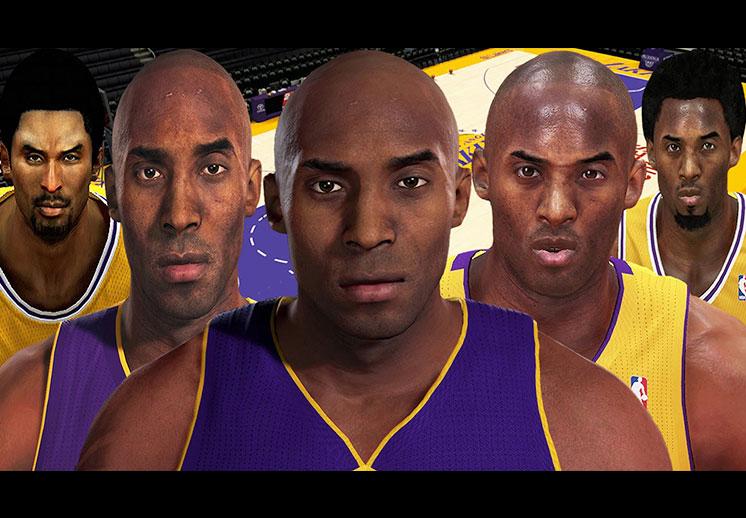 La evolución de Kobe en los videojuegos