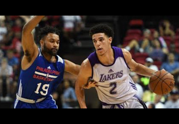 Lonzo Ball se roba el show en la Summer League
