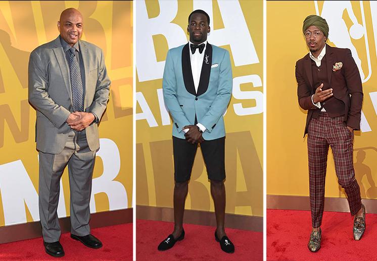 los peores vestidos de los Premios NBA