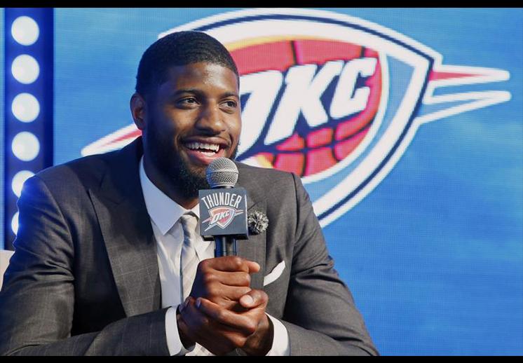 thumbnil. Las declaraciones de Paul George sobre Westbrook y Durant