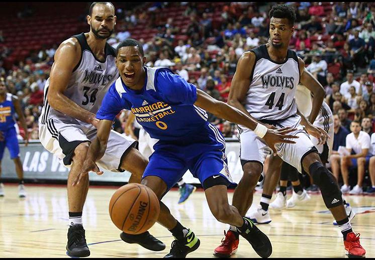 Timberwolves y Warriors protagonizaron un juego dramático