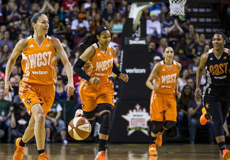 La fiesta de la WNBA en Seattle