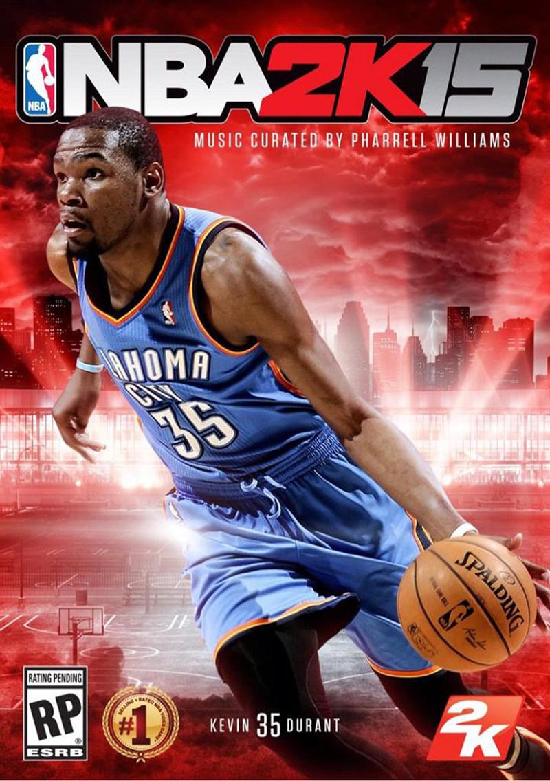 NBA 2K15 Kevin Durant en la portada