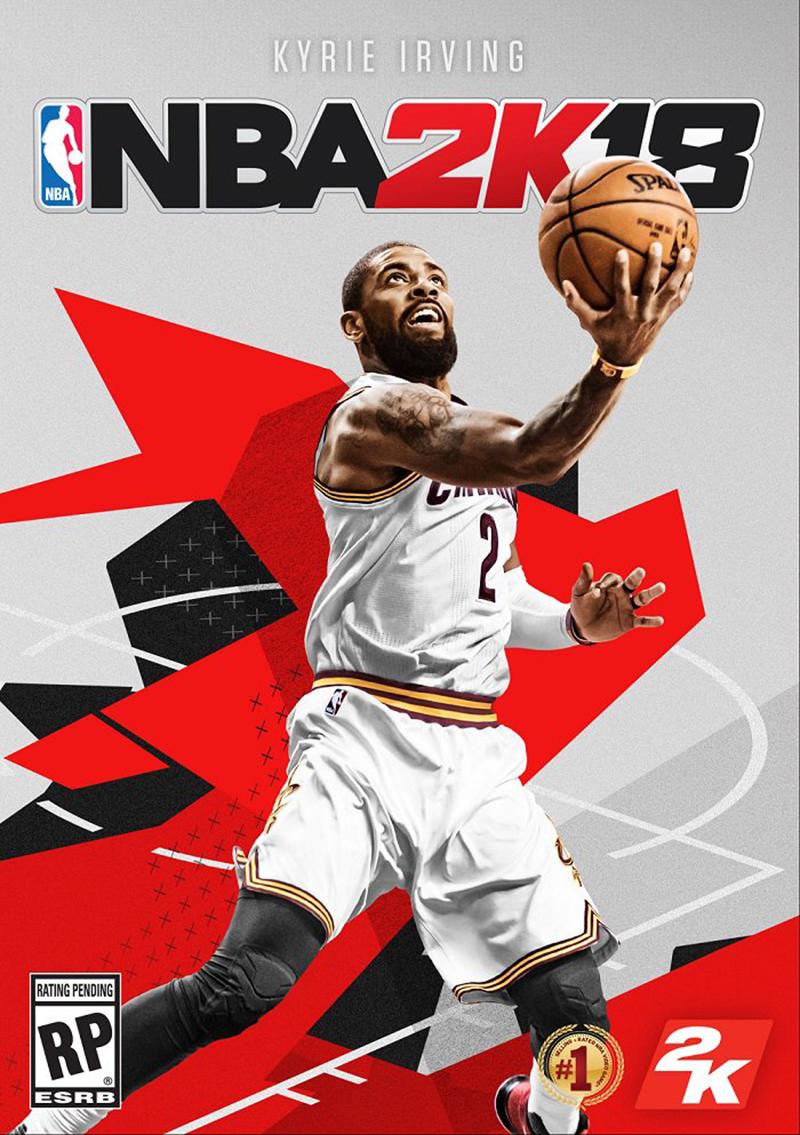 NBA 2K18 Kyrie Irving en la portada