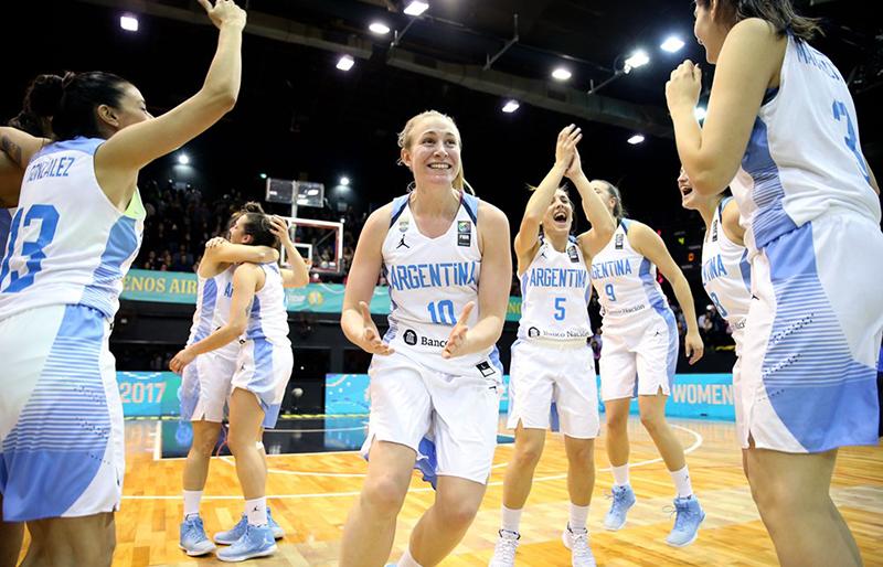 Argentina calificaron al Mundial Femenil