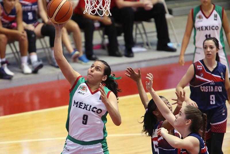 México va por el oro en el Centrobasket Femenil U17