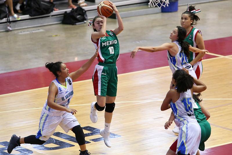 México con paso firme en Centrobasket Femenil U17 foto 2