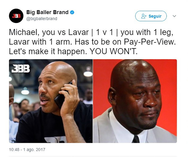 Michael Jordan le da con todo a LaVar Ball foto 3
