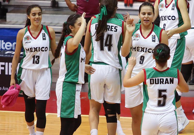 México va por el oro en el Centrobasket Femenil U17 foto 2