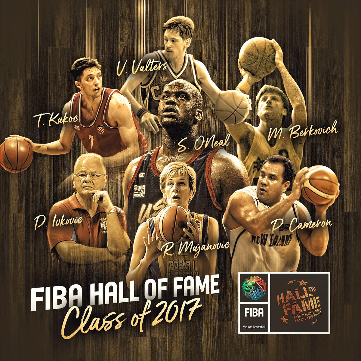 El Dream Team, Shaq y Kukoc serán inmortales en FIBA
