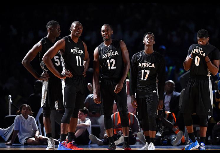 Una nueva jornada de la NBA en África