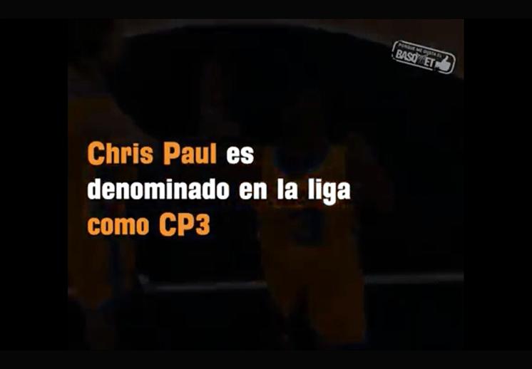 ¿Por qué Chris Paul tiene el sobrenombre de CP3?