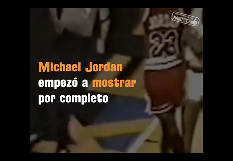 La primera gran noche de la vida de Michael Jordan