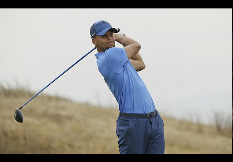 Stephen Curry cerca de hacer historia en el golf