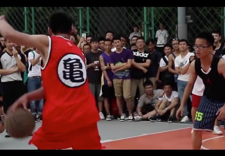 Goku sorprende en la duela de China